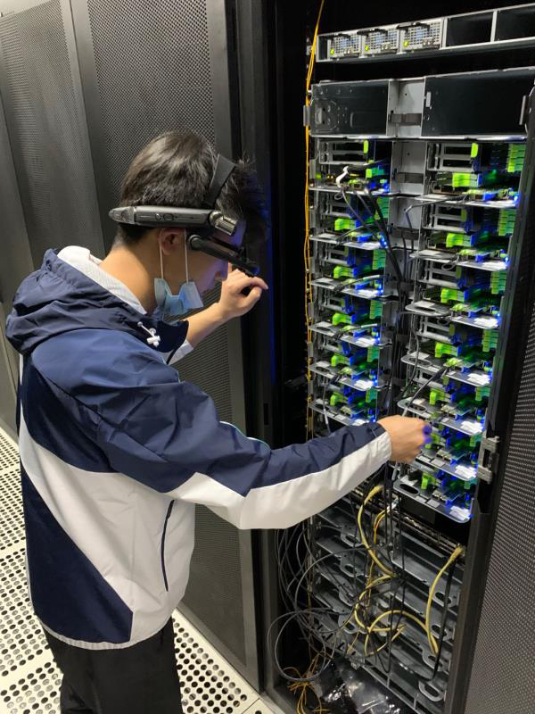 Rapid Space OCP Remote Installation with FacePro Smart Glasses