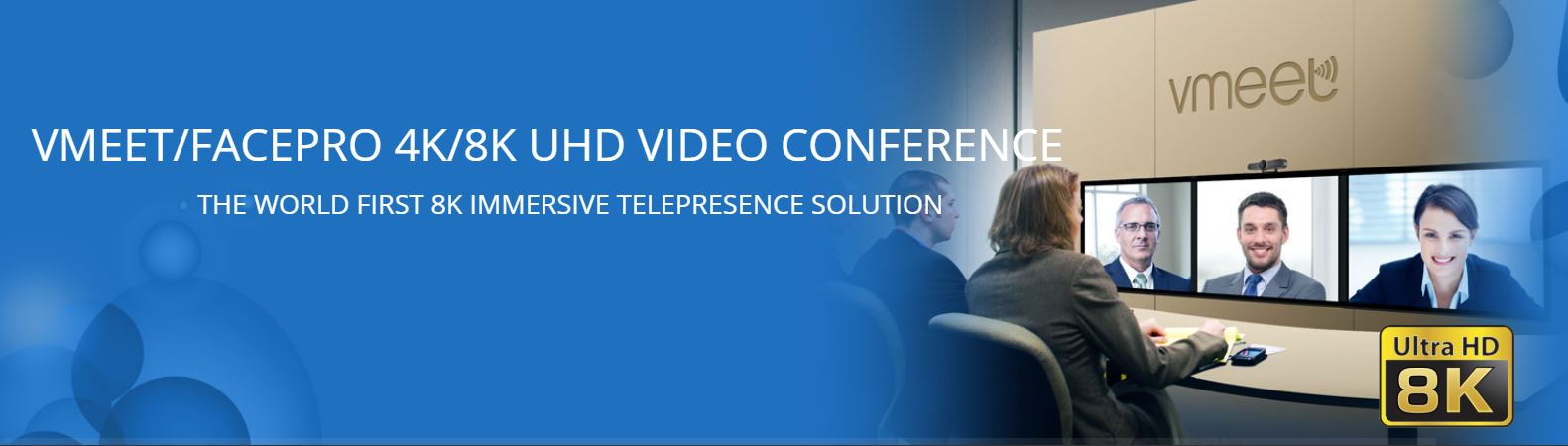 Softfoundry announce the world's first 4K/8K Video Conference for phones, PC, meeting rooms and several vertical applications