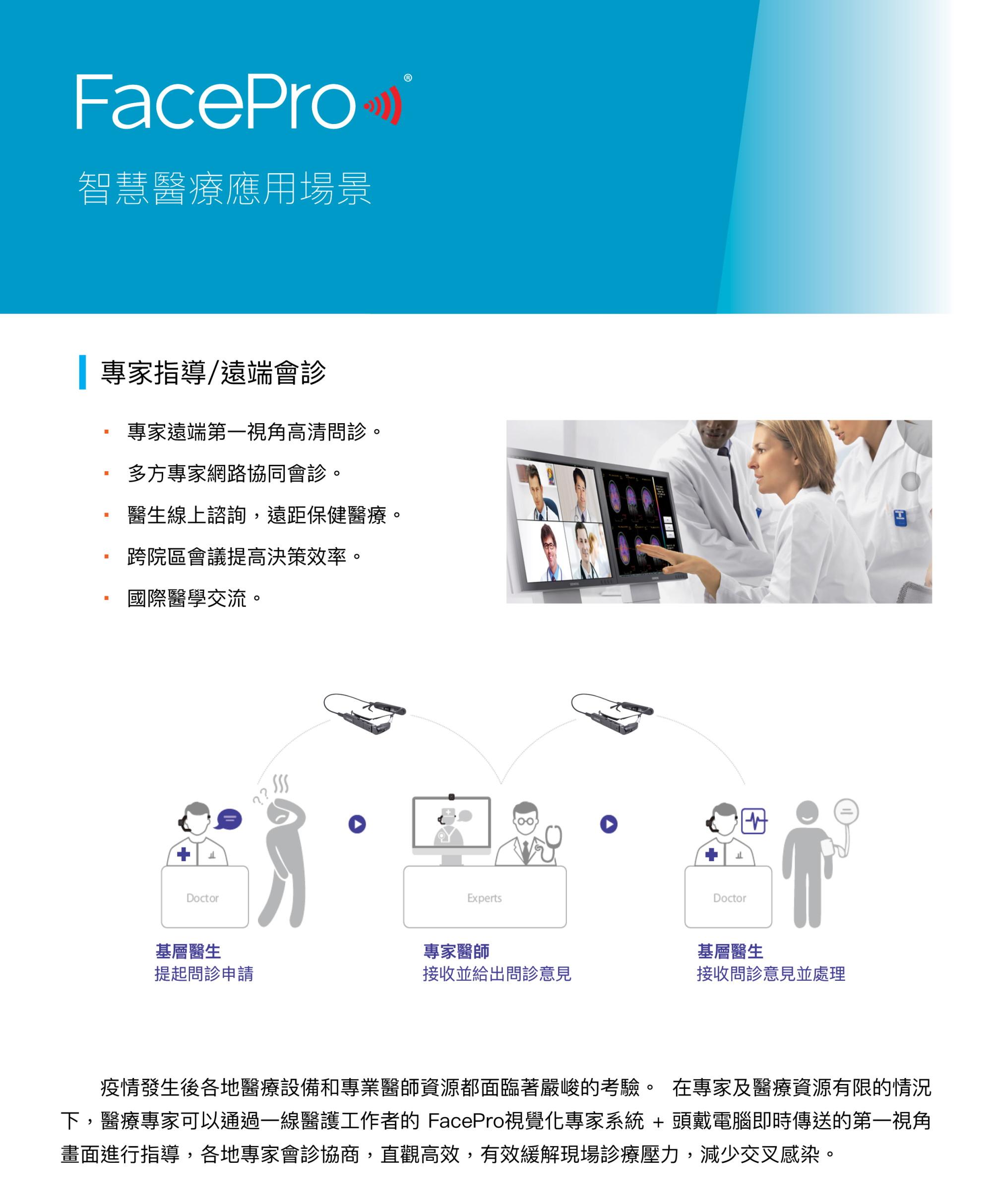 FacePro Xpert 遠程醫療系統